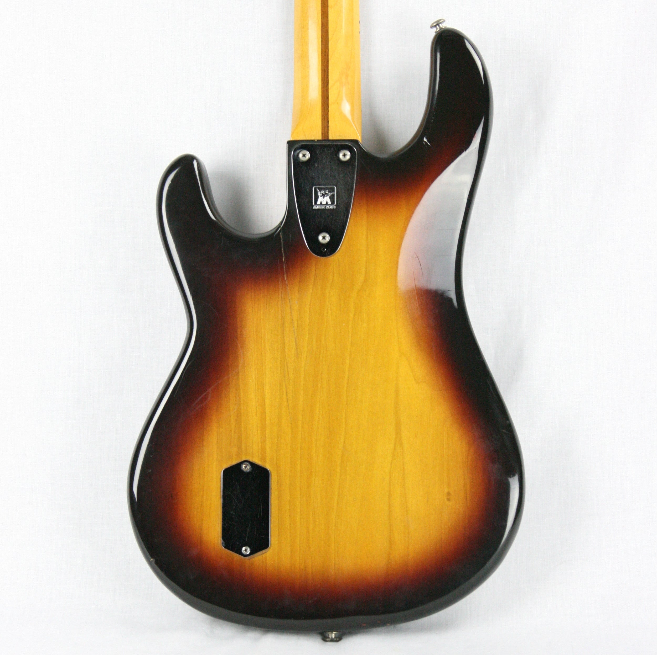 1979 MusicMan Sabre Bass Sunburst w/ OHSC! Pre-EB Ernie Ball 3-bolt, Maple Neck! Stingray
