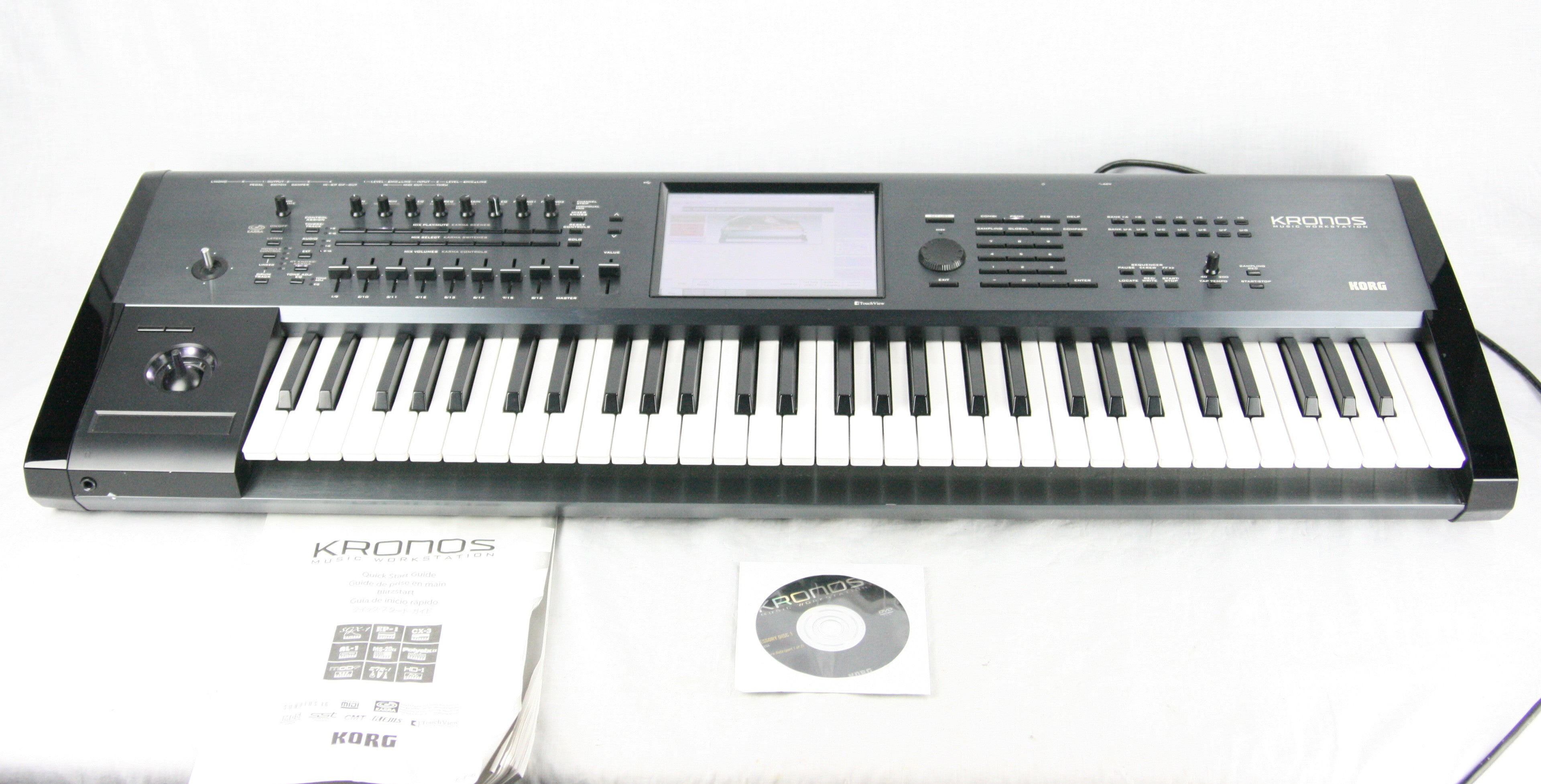 Korg Kronos-61 Keyboard Synthesizer Music Workstation 61 Key Made in Japan