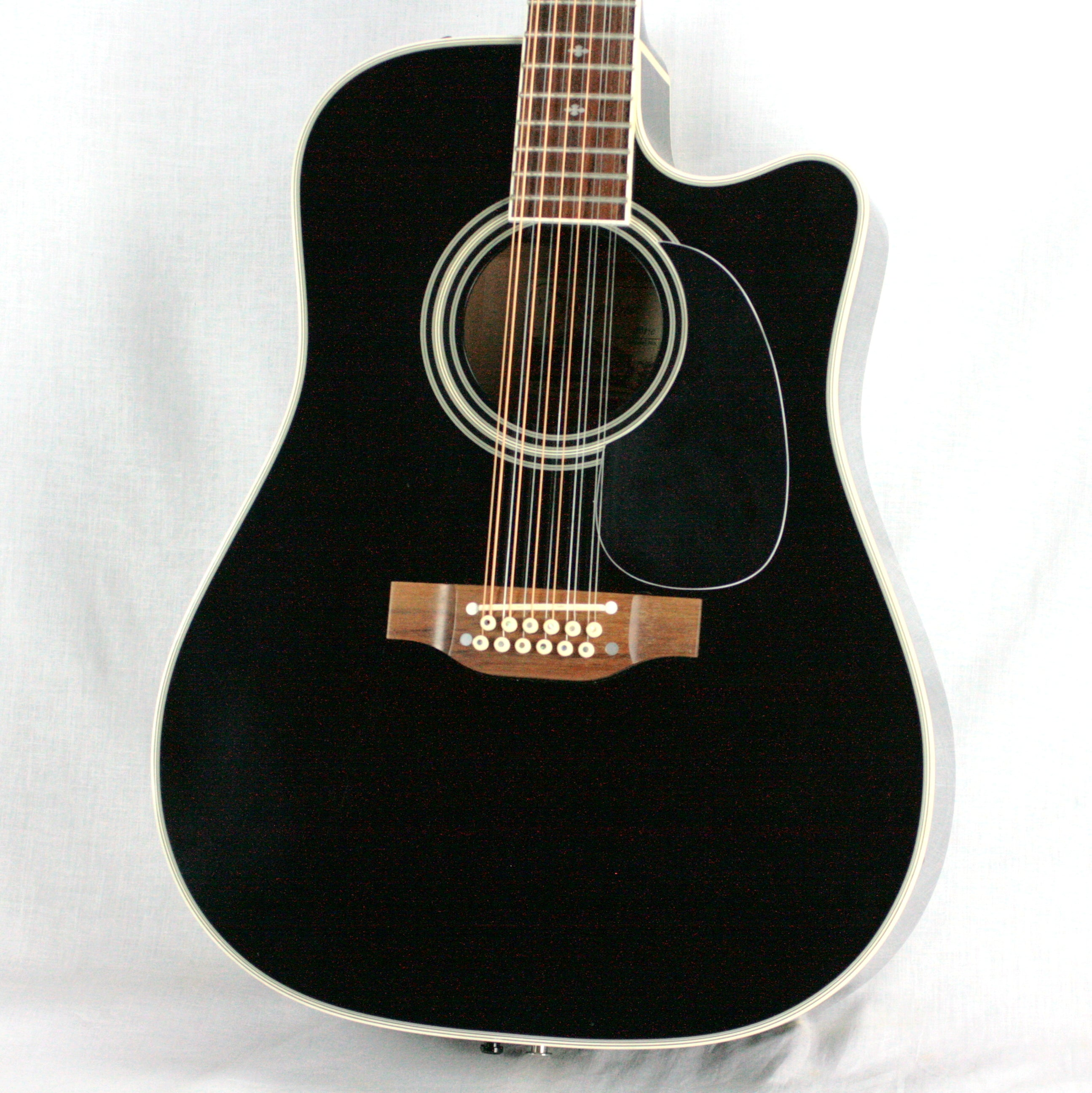 2000 Takamine EF381C Black 12-String Acoustic Electric Guitar! Made in Japan! ef381sc