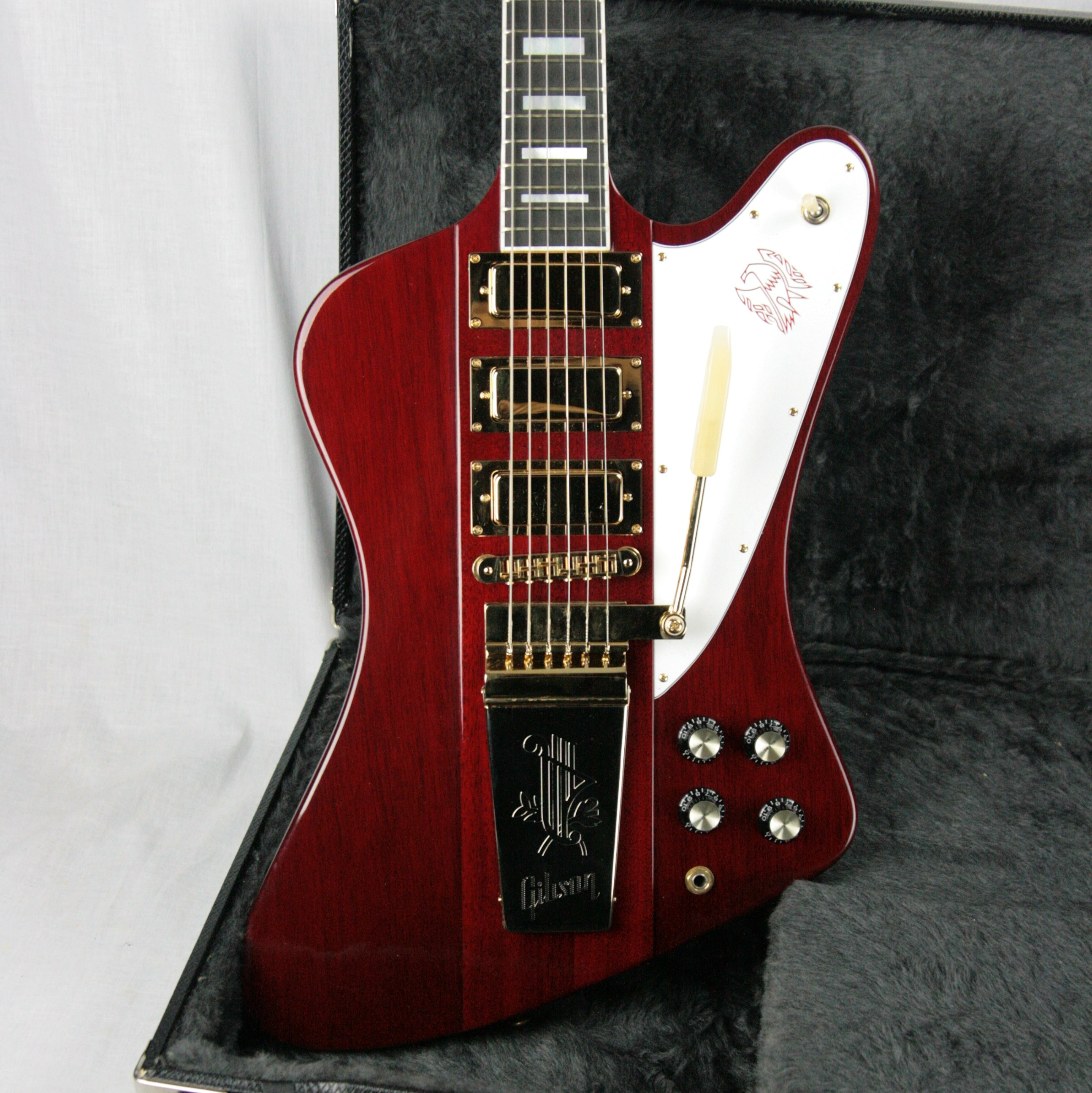 2005 Gibson Firebird VII Cherry Red! EBONY Board! Limited Edition MINTY! Maestro