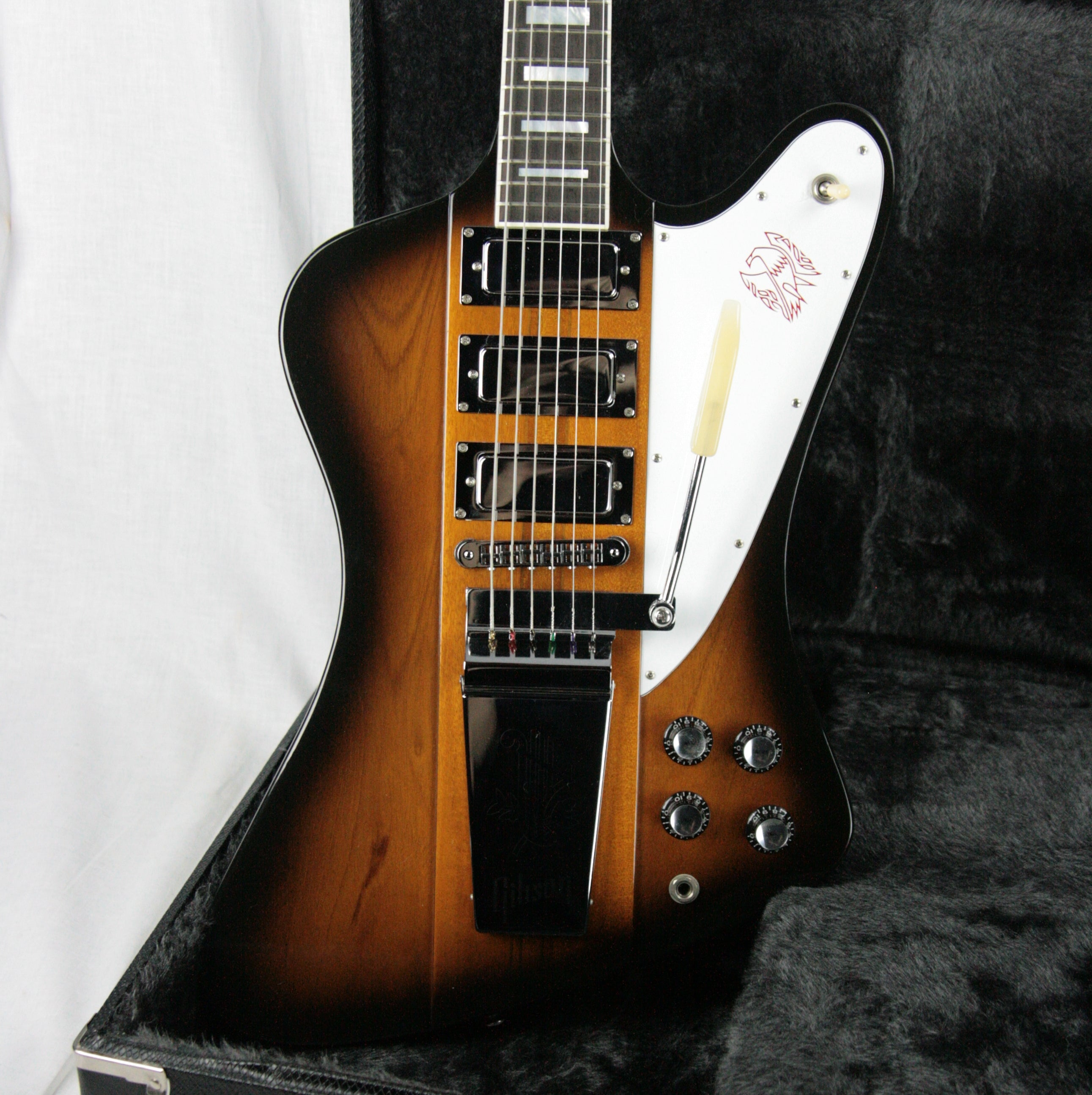 2005 Gibson Firebird VII Sunburst! EBONY Board! Chrome MINTY! Maestro