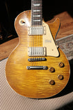 2018 Gibson 1959 AGED Lemon Burst Les Paul Historic Reissue! R9 59 Custom Shop VINTAGE TOP!