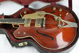 1967 Gretsch 6122 Country Gentleman George Harrison Beatles Brown! Supertrons, Bigsby