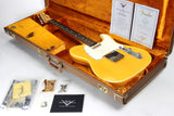 1960 Fender Custom Shop Masterbuilt Brazilian Telecaster Relic Paul Waller Double-Bound Nocaster Blonde