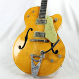 1961 Gretsch 6120 Chet Atkins Model w/ FLAME! Western Orange NO BINDING ISSUES