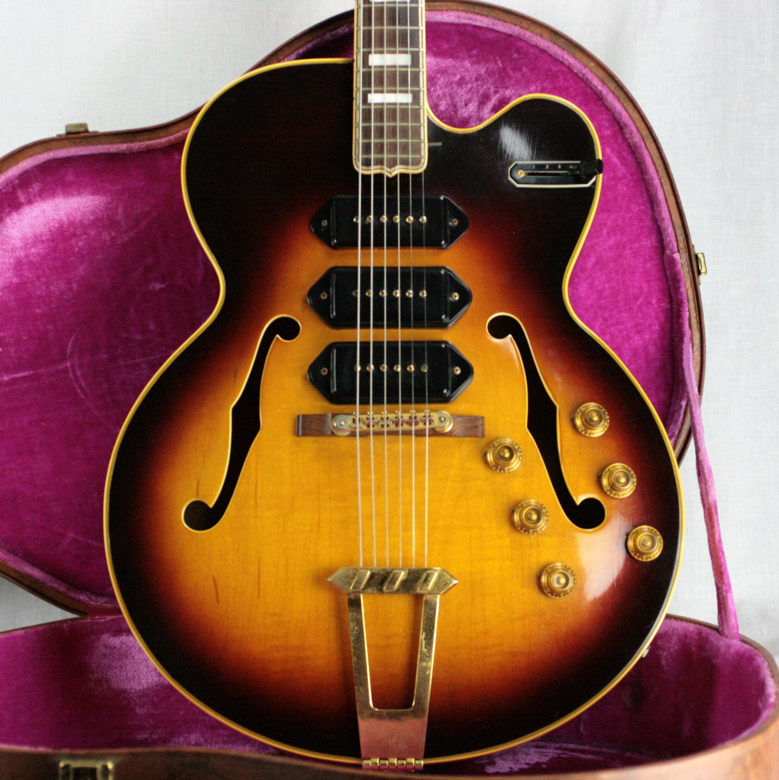 1956 Gibson ES-5 SWITCHMASTER Sunburst! Clean One Owner! 3 P90's ES5 355 335 330