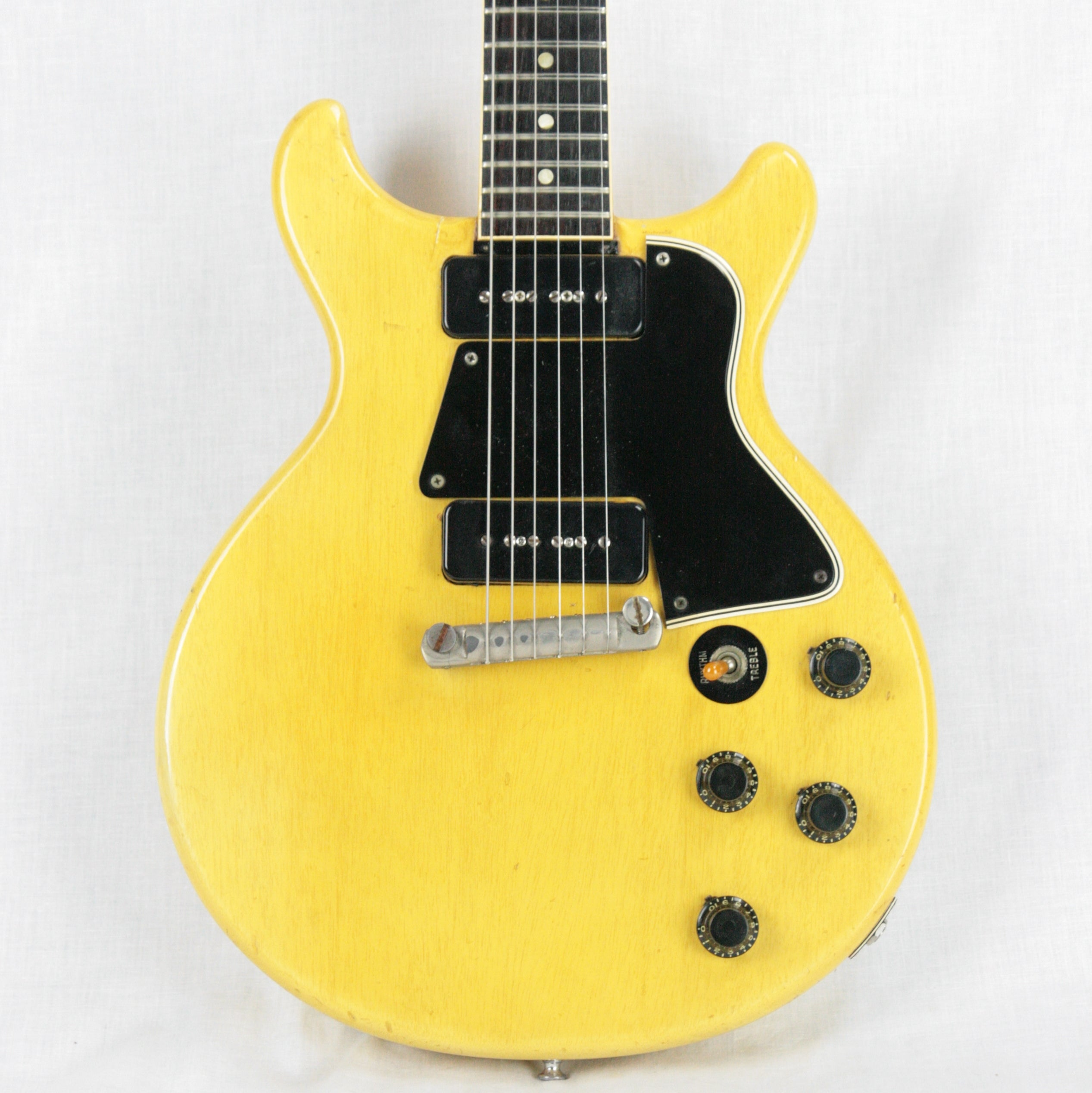 1959 Gibson Les Paul TV Yellow Special! Doublecut, Double Cutaway 1950's LP! P90's Jr.