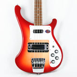 2016 Rickenbacker 4003S FIREGLO Electric Bass Guitar! Dot Inlays 4001 4003 S