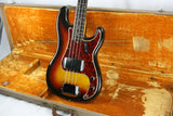 1961 Fender Precision Bass w/ OHSC! Slab-Board Neck P! SUPER CLEAN! All-Original!