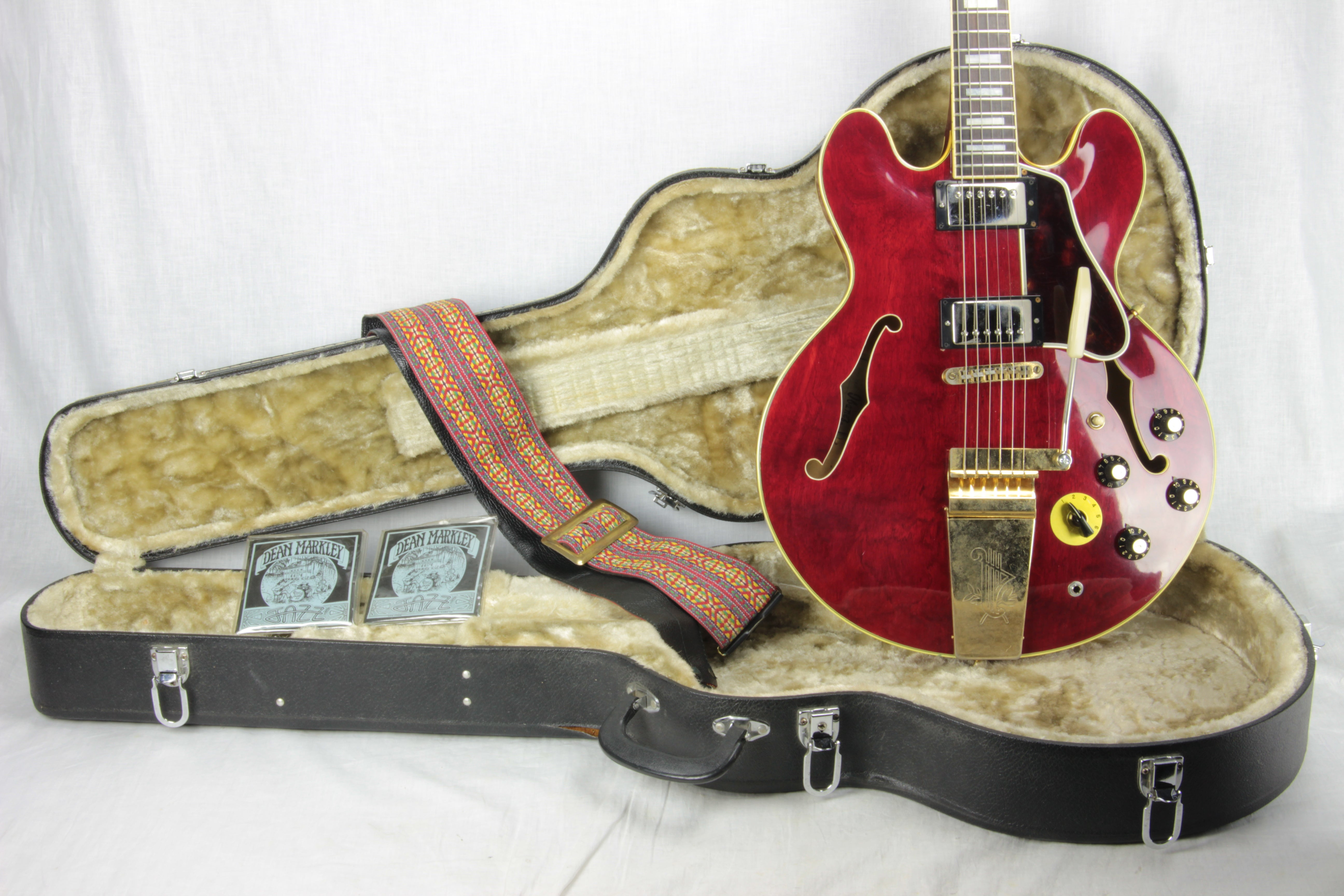 1977 Ibanez ES-355 TD Cherry Varisonic Stereo 2457 Lawsuit Era Seth Lover gibson japan