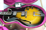 1996 Gibson ES-175 Archtop Electric Guitar FLAME! Tobacco Sunburst w/ OHSC! 335 355