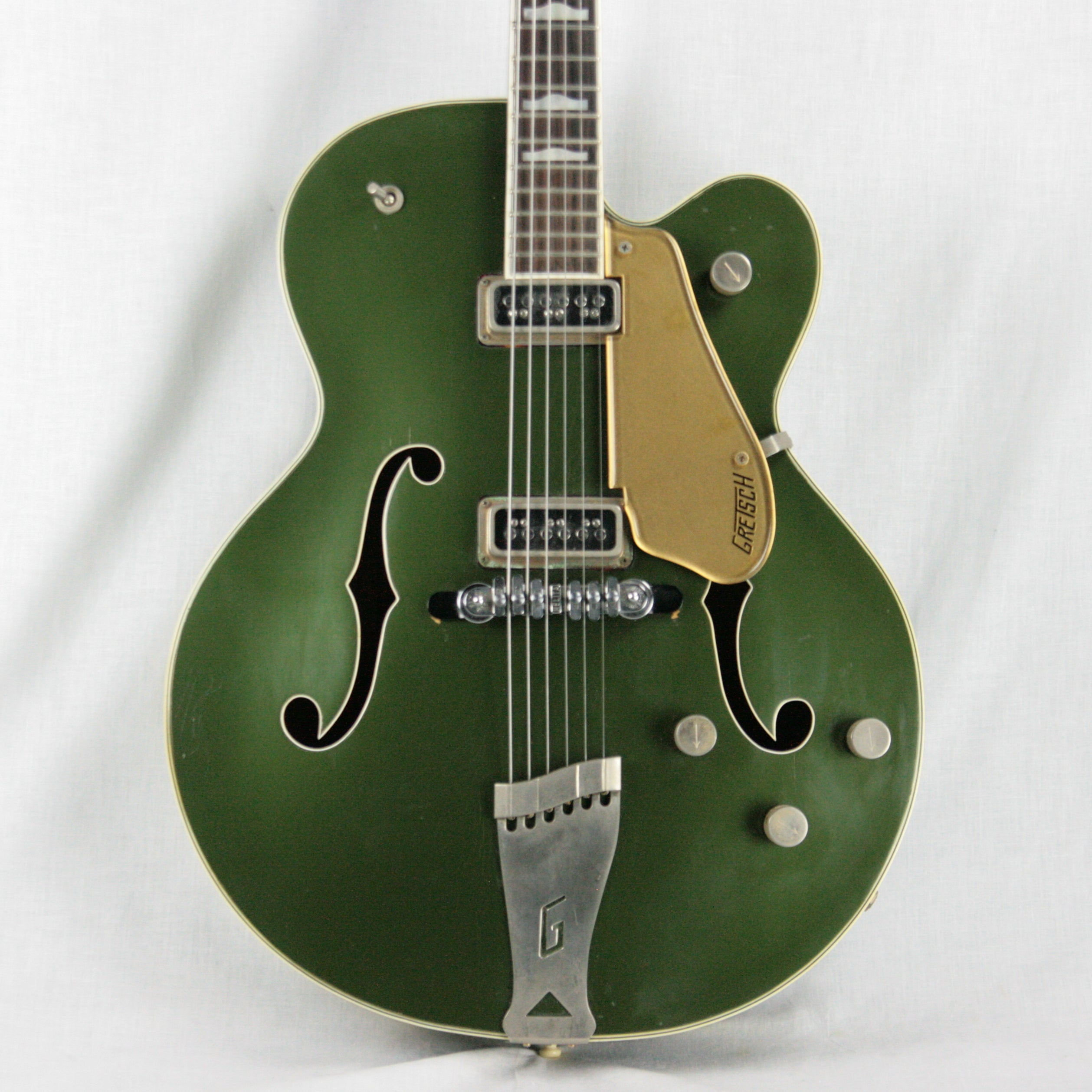 1956 Gretsch 6196 Country Club CADILLAC GREEN w/ Dearmond Pickups! white falcon size