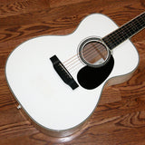 2006 Martin Bellezza Bianca ERIC CLAPTON 000-ECHF WHITE Acoustic Guitar! Signed by EC! 28 42