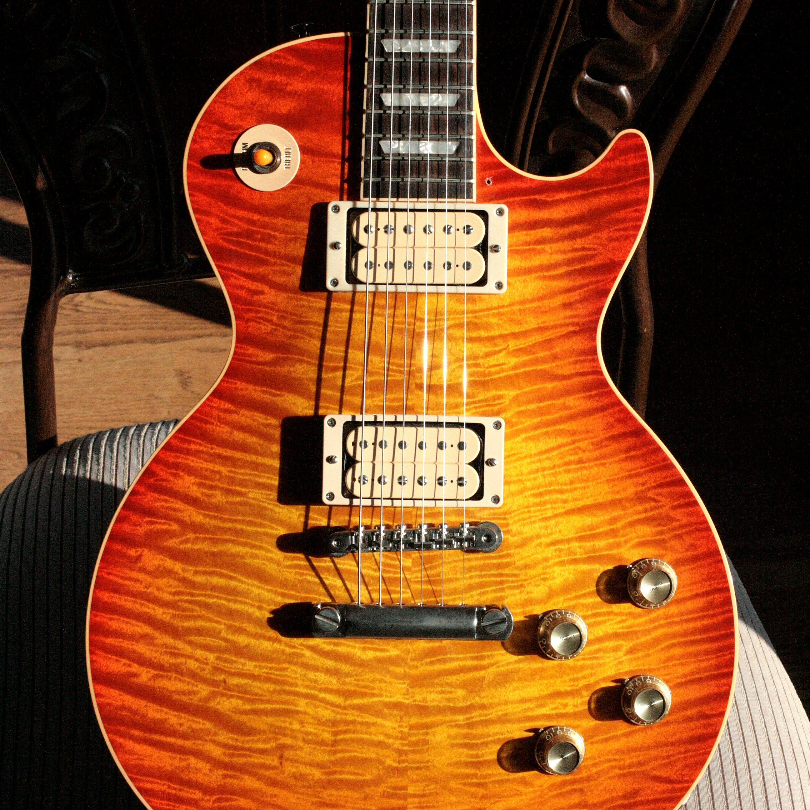 1997 Gibson '60 Les Paul Reissue Historic QUILT Flametop! 1960 R0 LP 1959 R9 Custom Shop