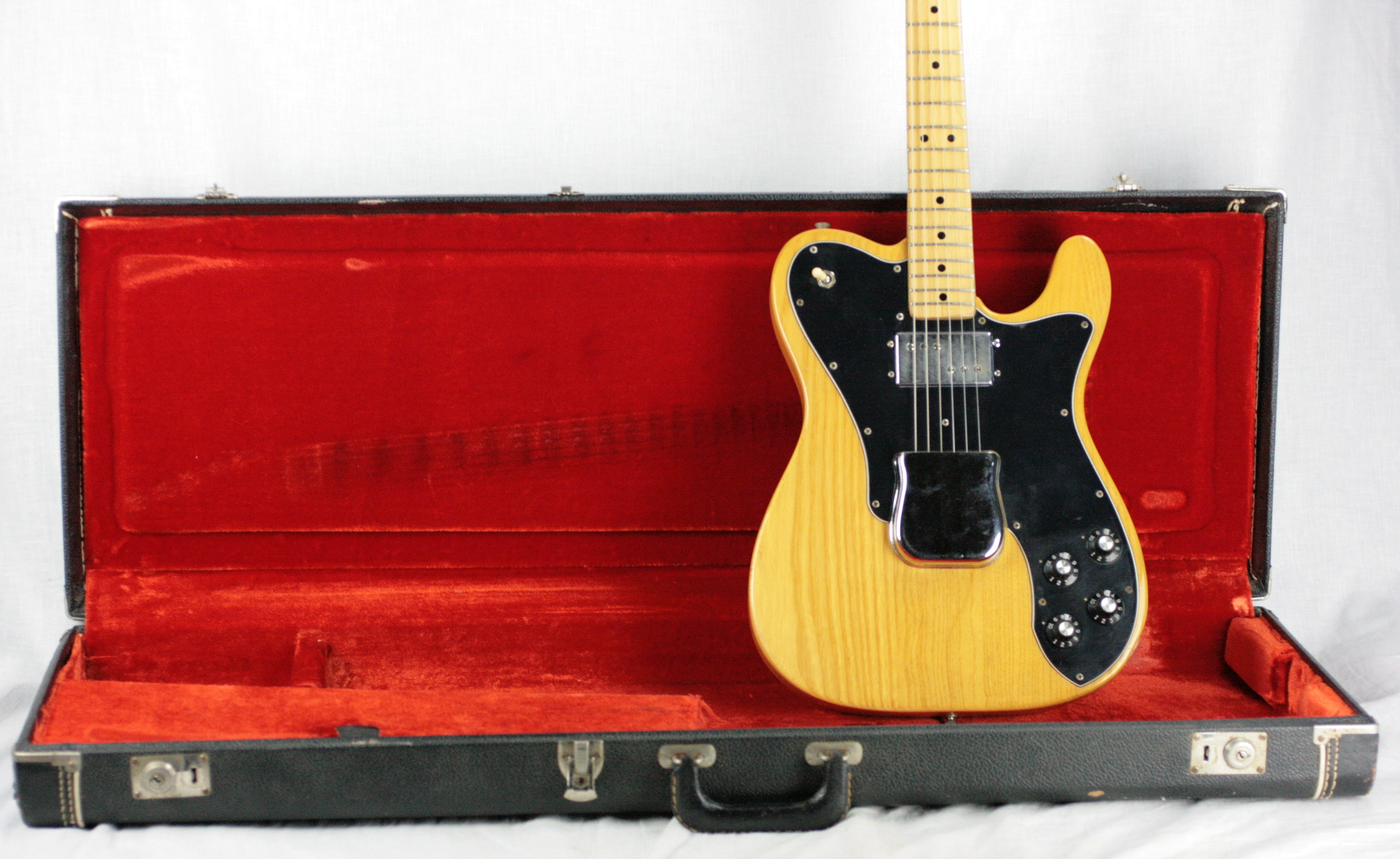 1976 Fender Telecaster Custom in Natural - 100% Original, Lightweight Tele, Keith Richards, 1970's