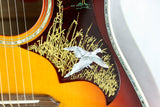 2017 Gibson Custom Shop DOVES IN FLIGHT! Limited Edition Autumn Burst! Montana dove hummingbird