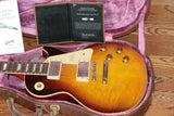 2018 Gibson AGED 1958 Les Paul Historic Reissue! R8 58 Dark Bourbon Fade Custom Shop TH Specs