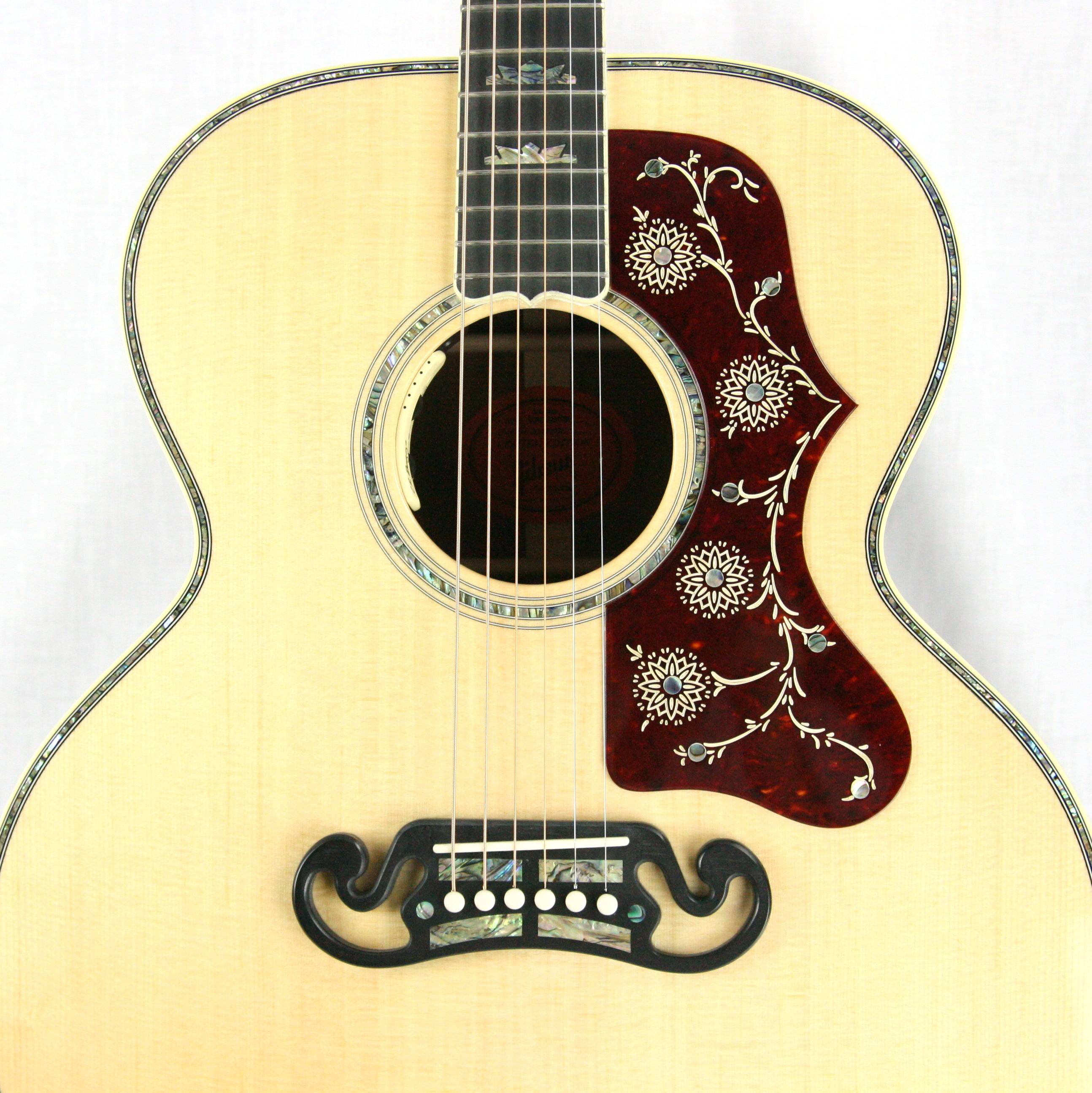 2017 Gibson Custom Shop SJ-200 KOA! Abalone, Limited Edition! j200 Acoustic Guitar j45