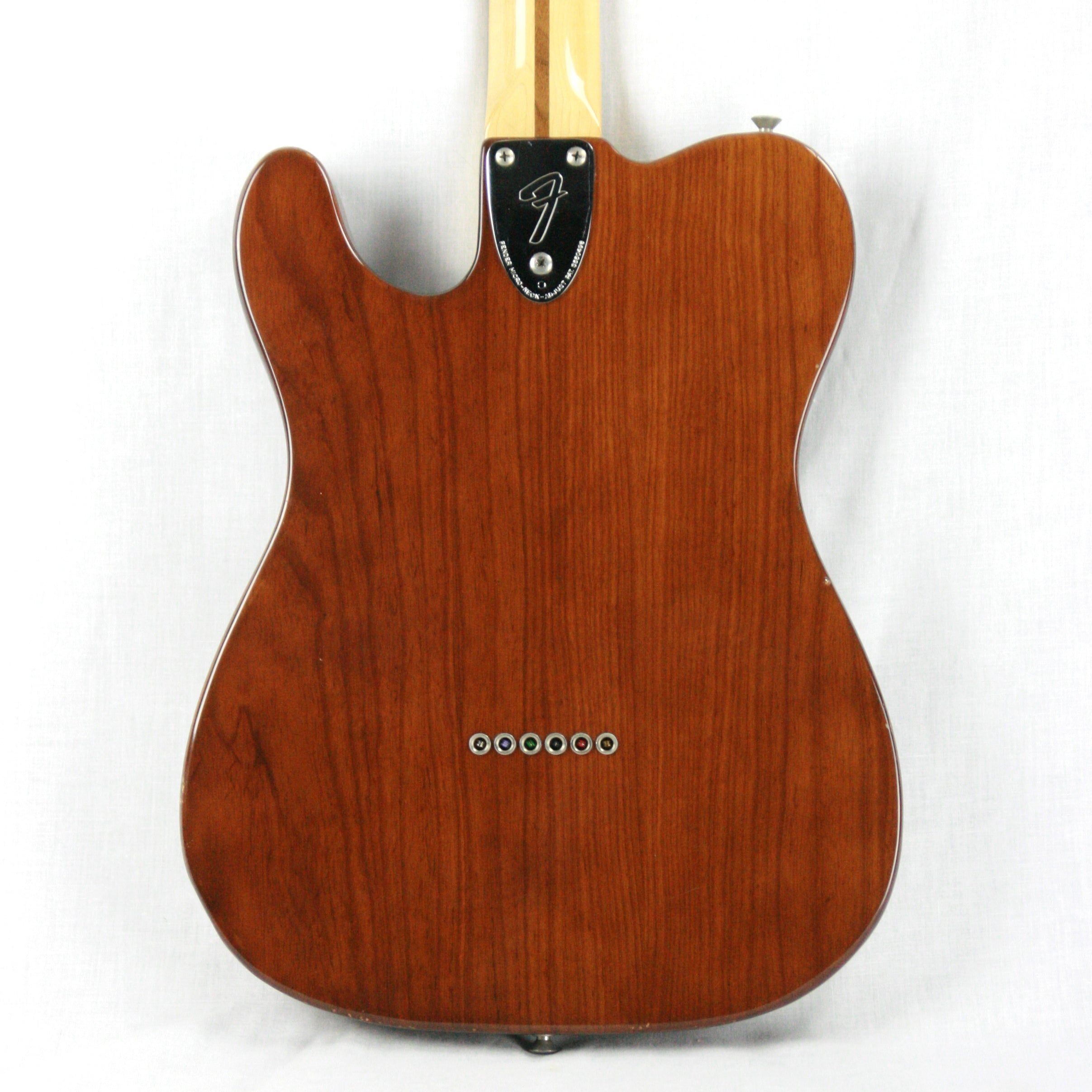 1979 Fender Telecaster Thinline Mocha Brown Finish w/ OHSC! 1970's Tele, Deluxe, Custom, Wide-Range Humbuckers!
