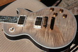 2018 Gibson ICE FLAME Custom Shop Les Paul ULTIMA! Ebony Board BLUE WIDOW Flametop