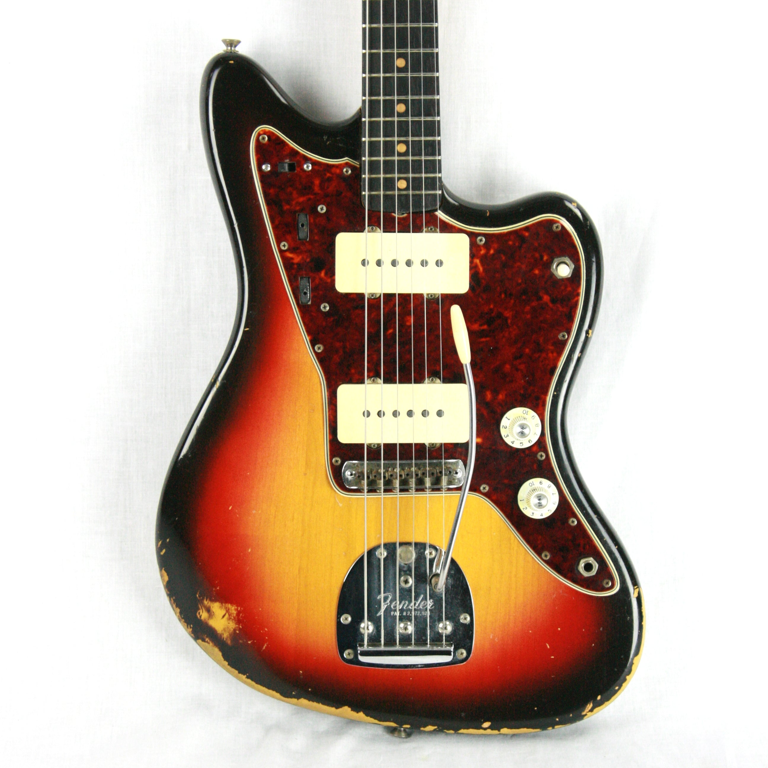 1964 Fender Jazzmaster Sunburst Pre-CBS! Clay Dots, L-Series, Offset! stratocaster telecaster