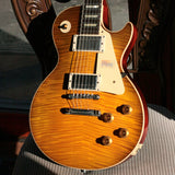 2019 Gibson 1959 Les Paul 60TH ANNIVERSARY Historic Reissue R9 59 Custom Shop Golden Poppy Burst