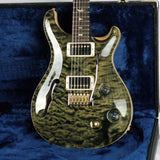 MINT 2018 PRS Wood Library Custom 22 Semi Hollow 1 Piece Quilt 10 Top! Obsidian! Artist Case!
