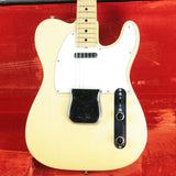 CLEAN 1974 Fender Telecaster Blonde! Vintage Maple Neck Tele 1970's w/ OHSC! 100% Original!