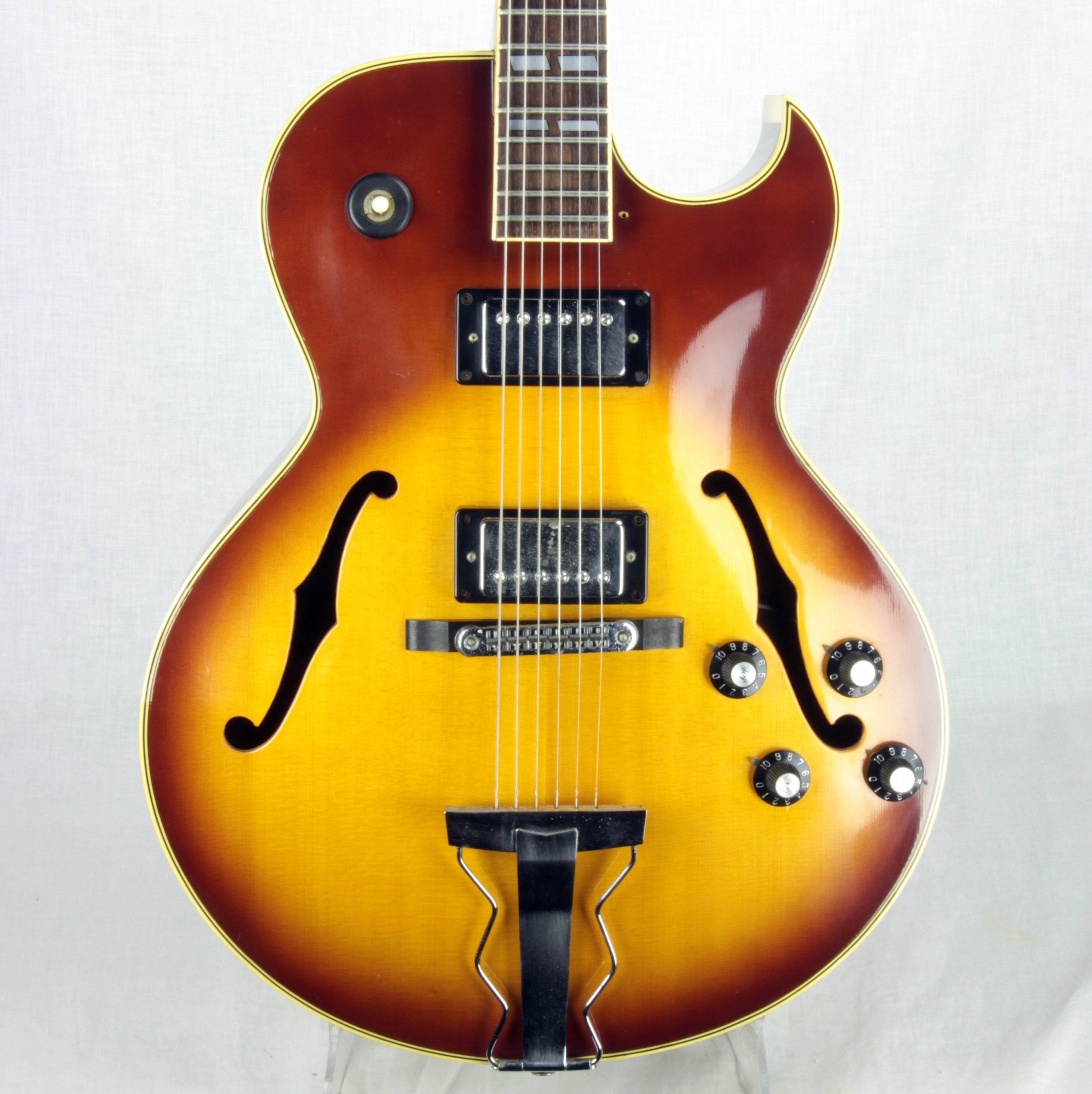 1977 Ibanez 2355 SIGNED M. Sugihara Label Vintage Made in Japan Archtop ES-175 Lawsuit