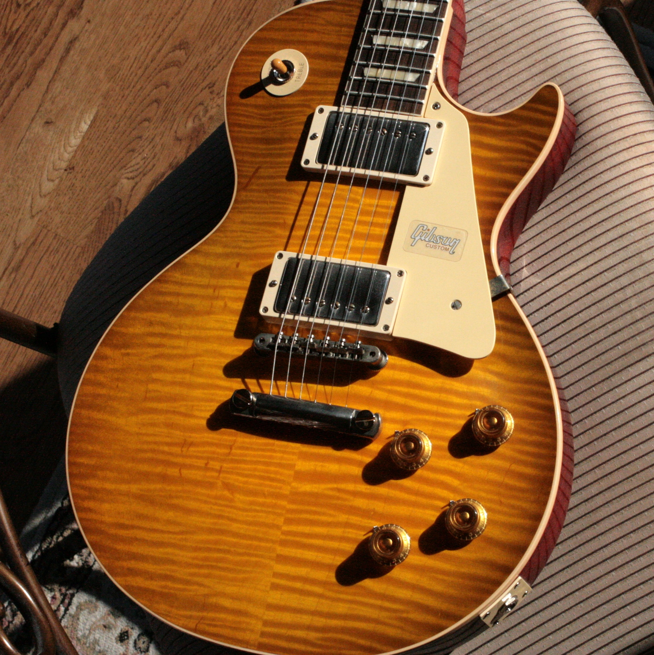 2019 Gibson 1959 AGED Les Paul 60TH ANNIVERSARY Historic Reissue R9 59 Custom Shop Golden Poppy Burst