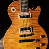 MINTY 2007 Gibson Les Paul Standard Flametop Honeyburst plus Zebra Pickups Slash 50's neck! 7.2 lbs!