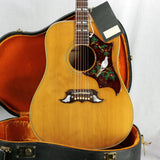 1967 Gibson DOVE Natural w/ Original Case and Hang Tag! Flamed Maple Back/Sides 1960's