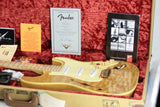 2002 Fender Masterbuilt THINLINE SLAB Stratocaster Custom Shop Strat Quilt Flame Top! Greg Fessler tele