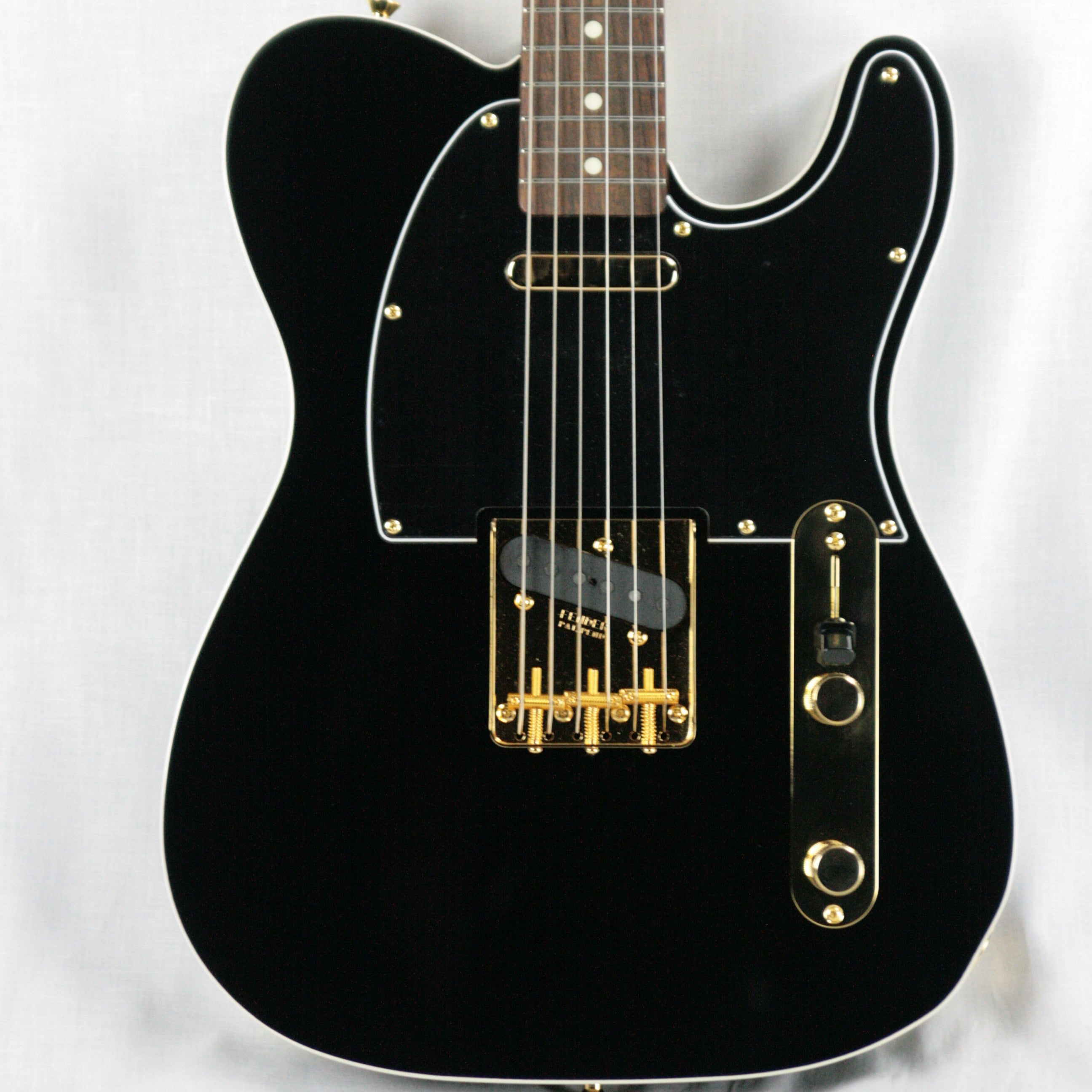 2018 Fender FSR Japan Traditional 60s Midnight Telecaster Custom MIJ! Double-Bound Matching Headstock