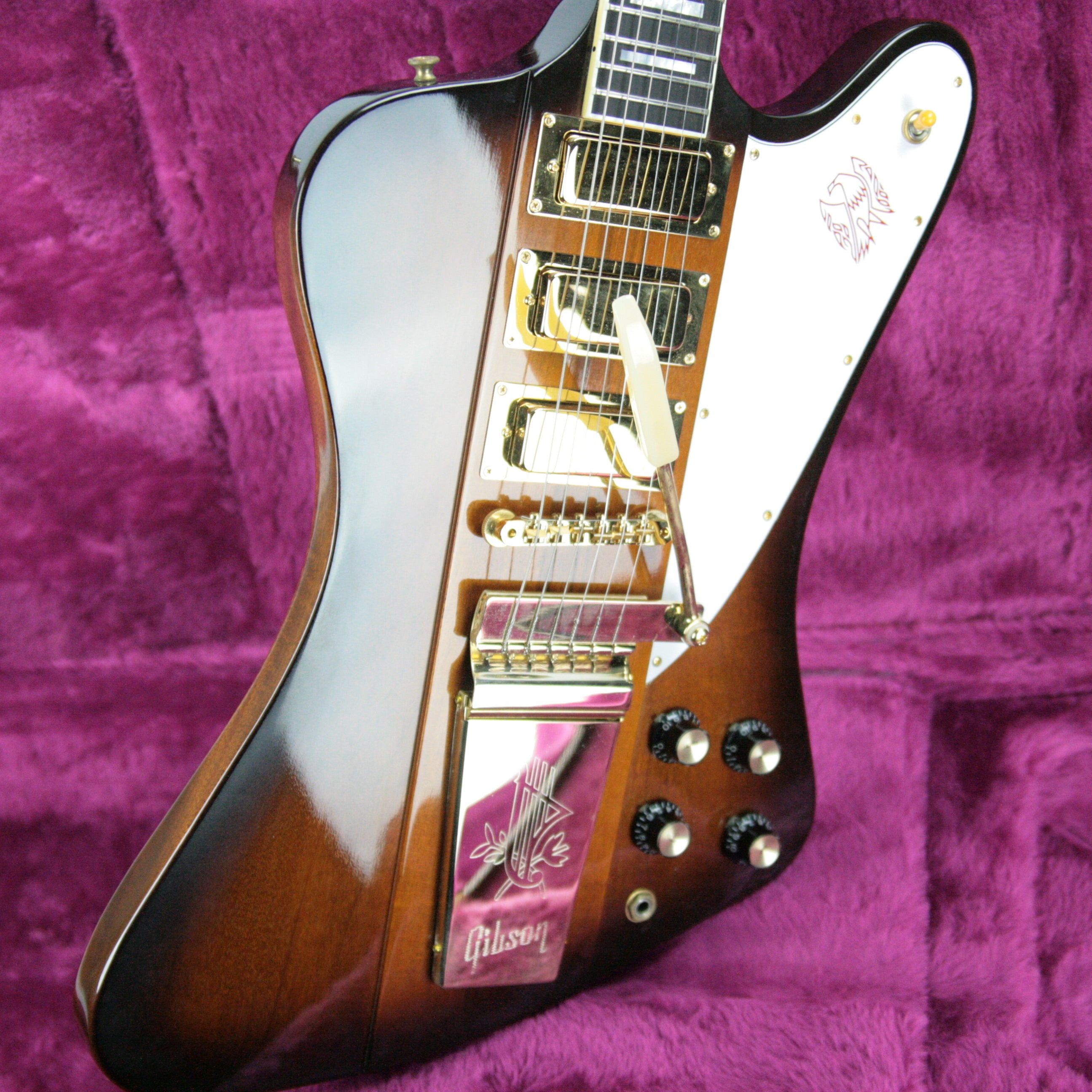 MINT 1998 Gibson Custom Shop Firebird VII Sunburst! 1965 Historic Reissue, Ebony Board! v iii
