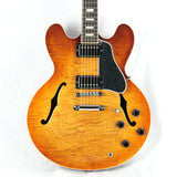 2017 Gibson ES-335 FIGURED Fade Light Burst Flametop! Block inlays! Memphis 345 355