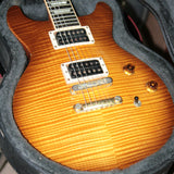 FLAMETOP 2003 Gibson Les Paul Standard DC Double Cut! Cutaway Plus Honey Burst
