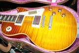 FLAMETOP 1958 Gibson Mark Knopfler VOS Les Paul Custom Shop Historic 58 R8 Lightweight! THE BEST!