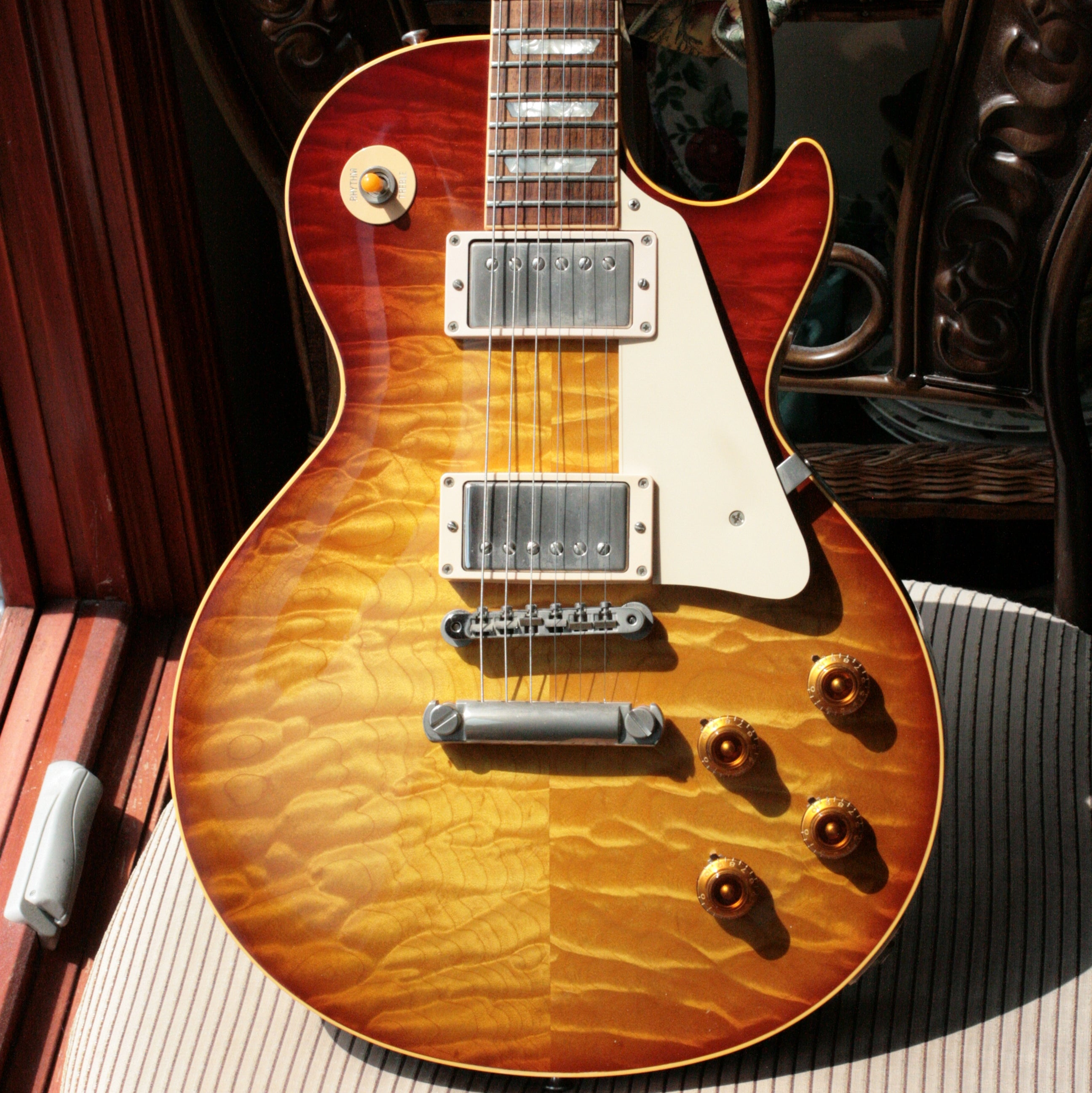 1999 Gibson '59 Reissue 40th Anniversary Les Paul **KILLER TOP** 1959 Quilt Custom Shop Historic LP R9 AAAAA
