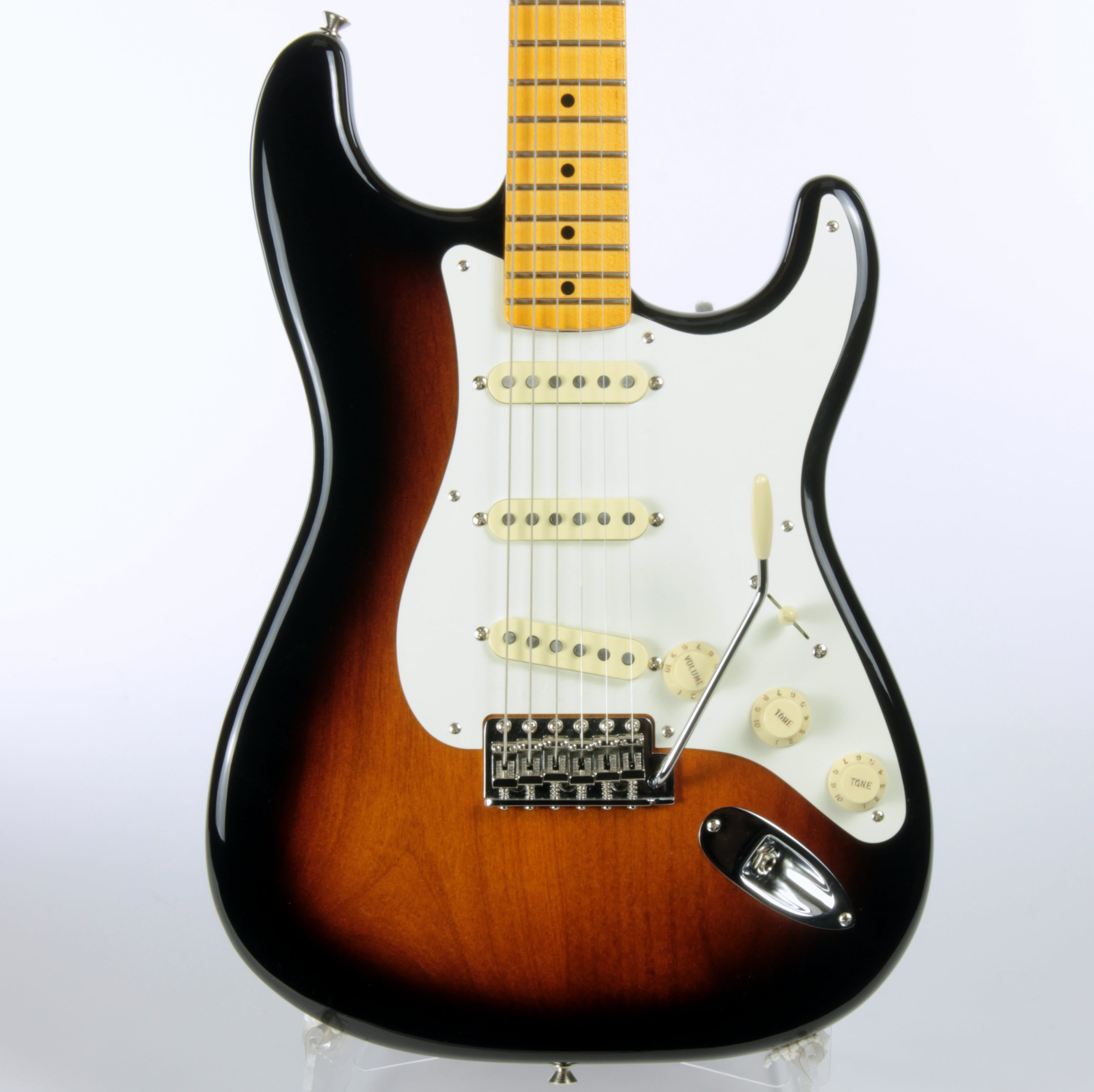 2018 Fender USA ERIC JOHNSON Signature Stratocaster EJ Strat American Maple 2-Tone Sunburst