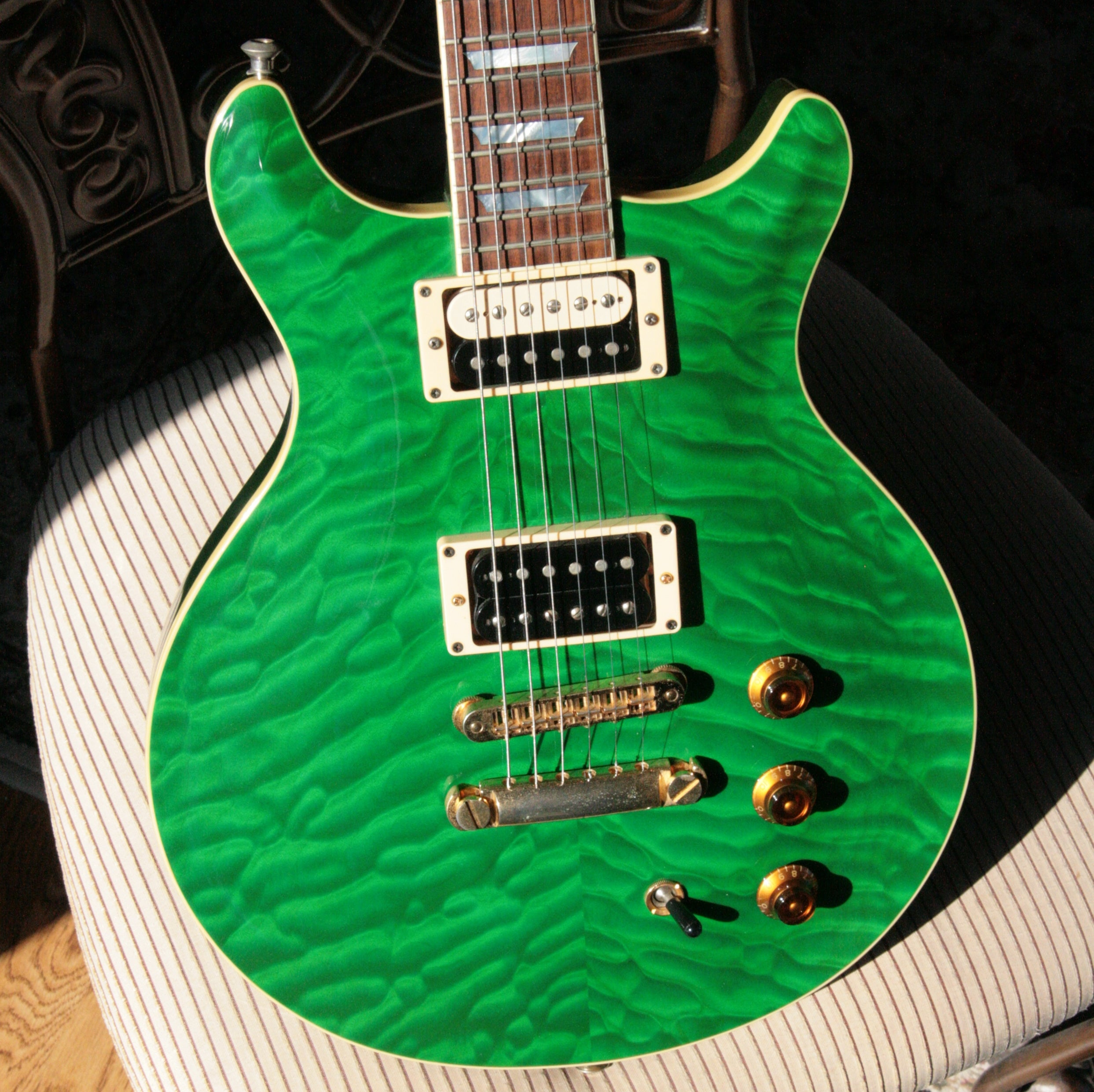 RARE 2001 Hamer USA Studio Custom in Emerald Green Custom Color! w/ OHSC tag