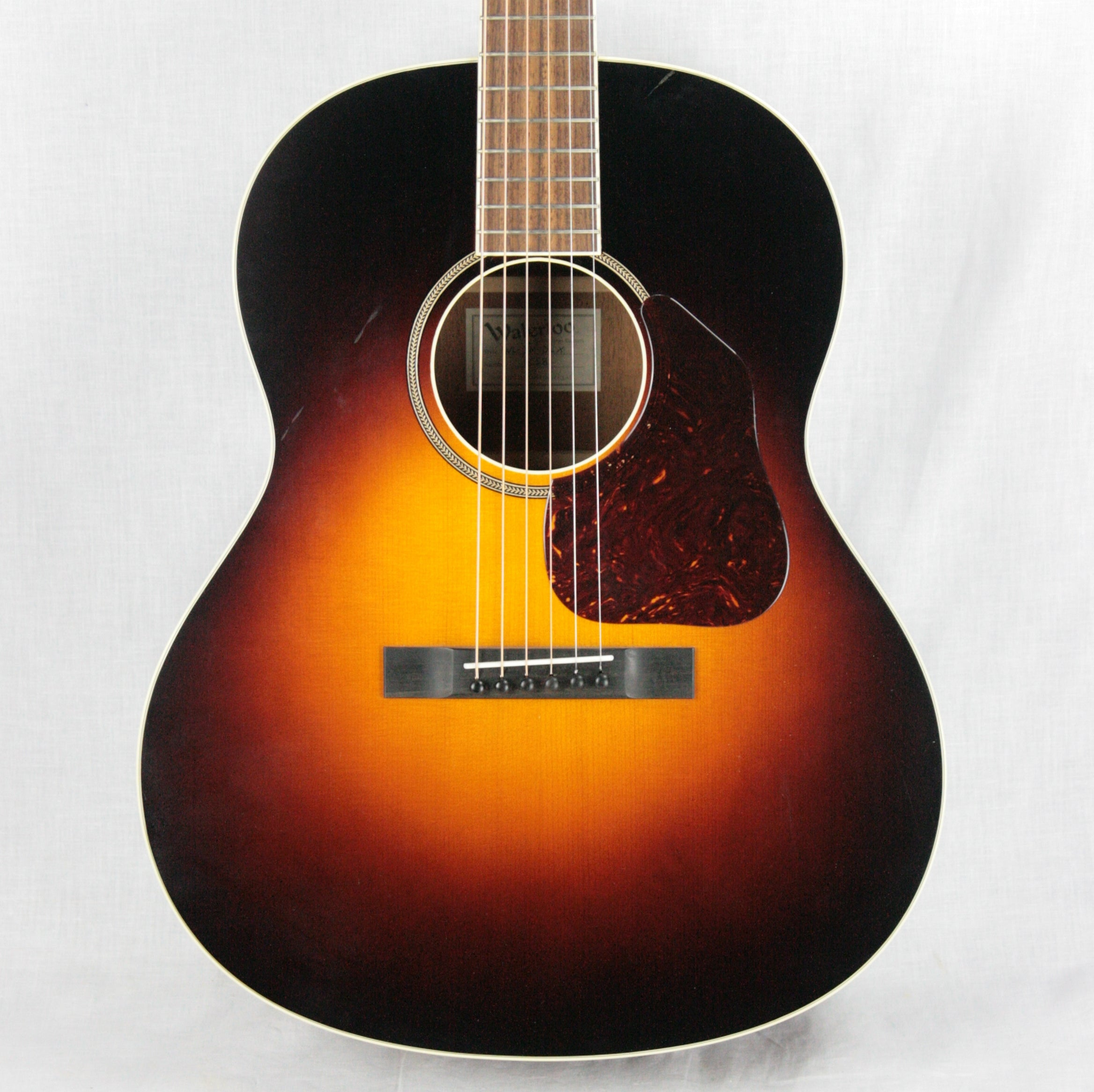Waterloo WL-JK Deluxe Jumbo King Acoustic Guitar! Sunburst Collings Recording King type