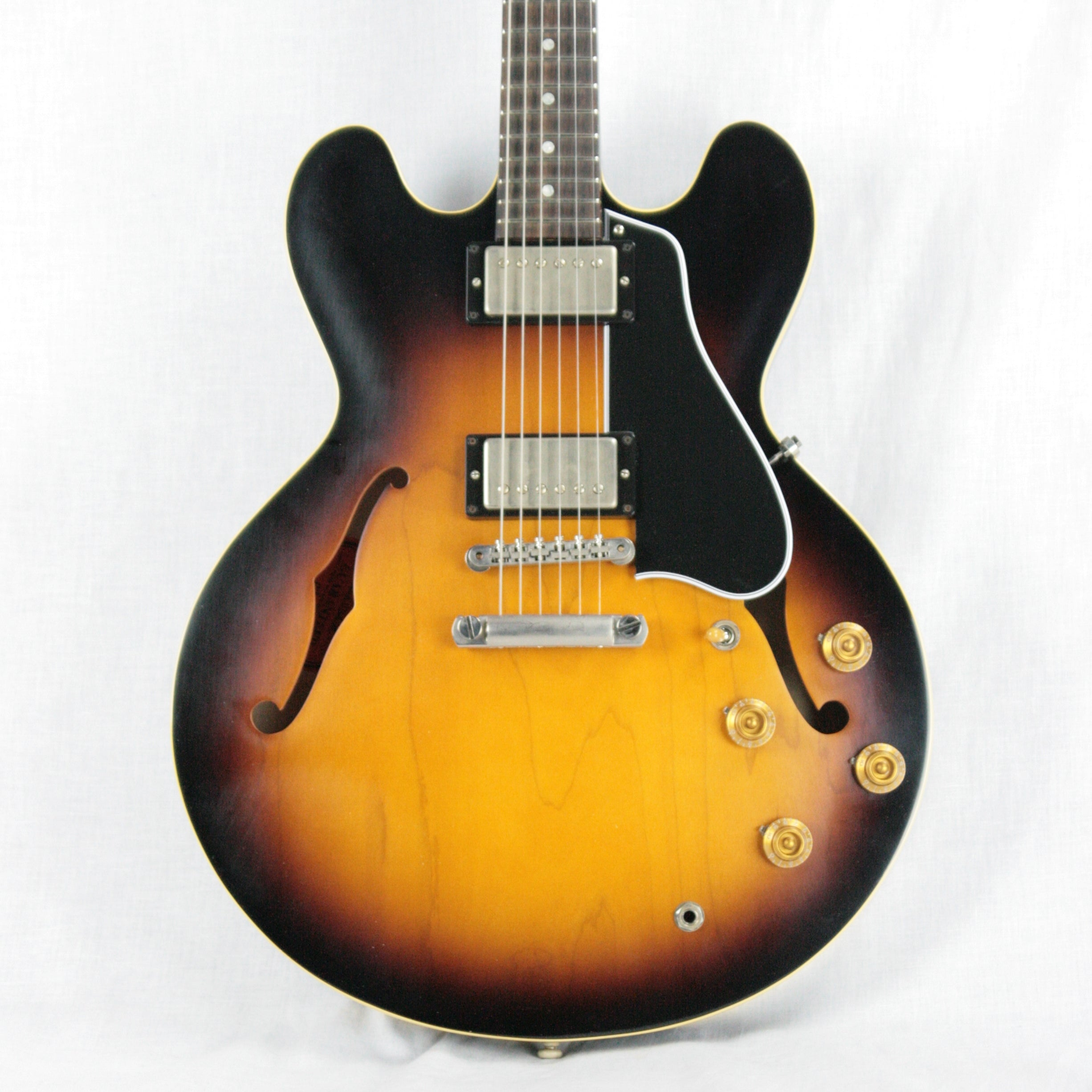 2016 Gibson Memphis '58 Reissue ES-335! 1958 Sunburst! Dot Neck No Binding!