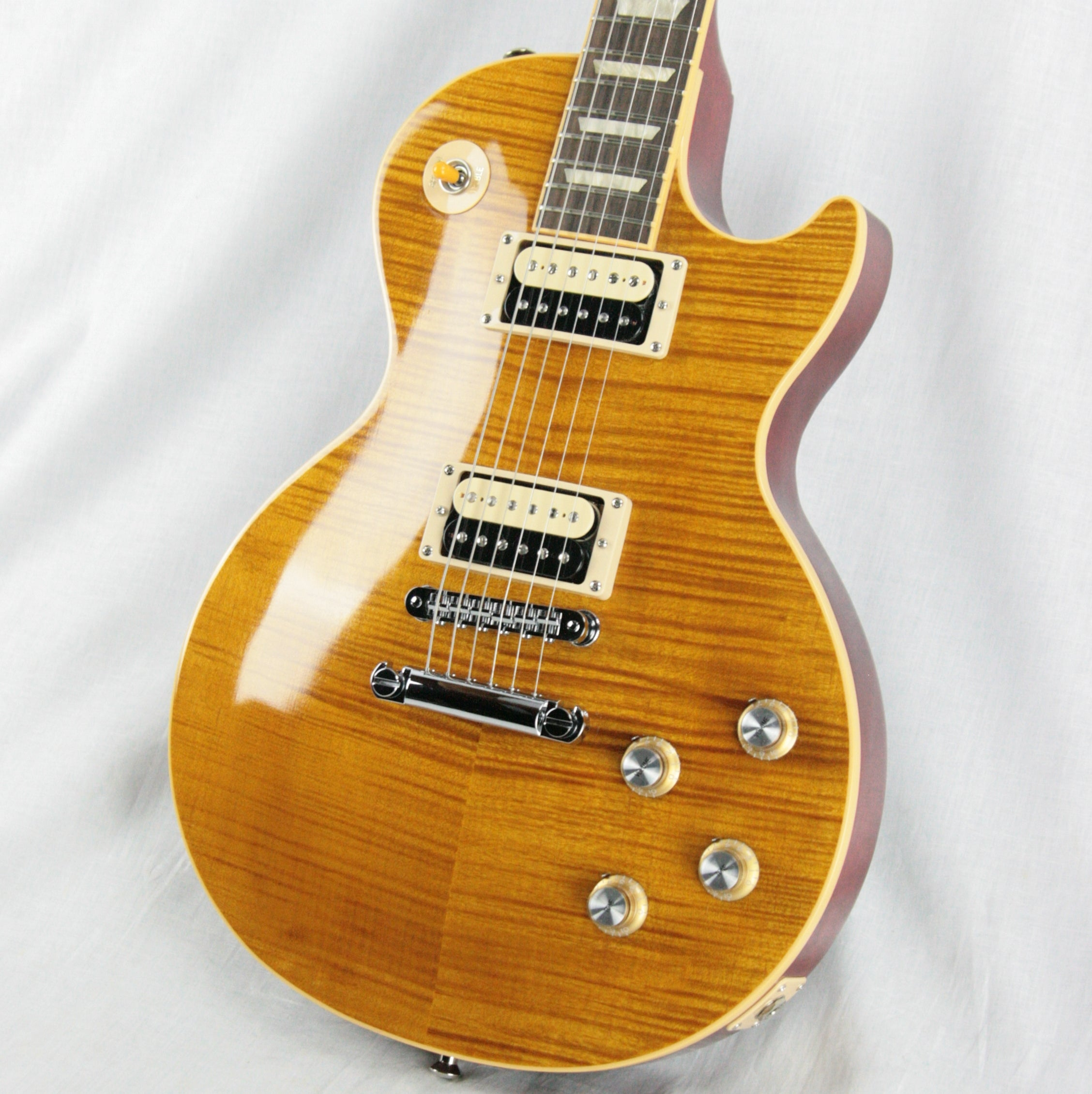 2010 Gibson SLASH AFD Signature Model Les Paul Appetite For Destruction USA Amber Flametop