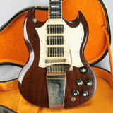 1969 Gibson SG Custom Walnut! 100% Original w OHSC! 1960's SG Les Paul