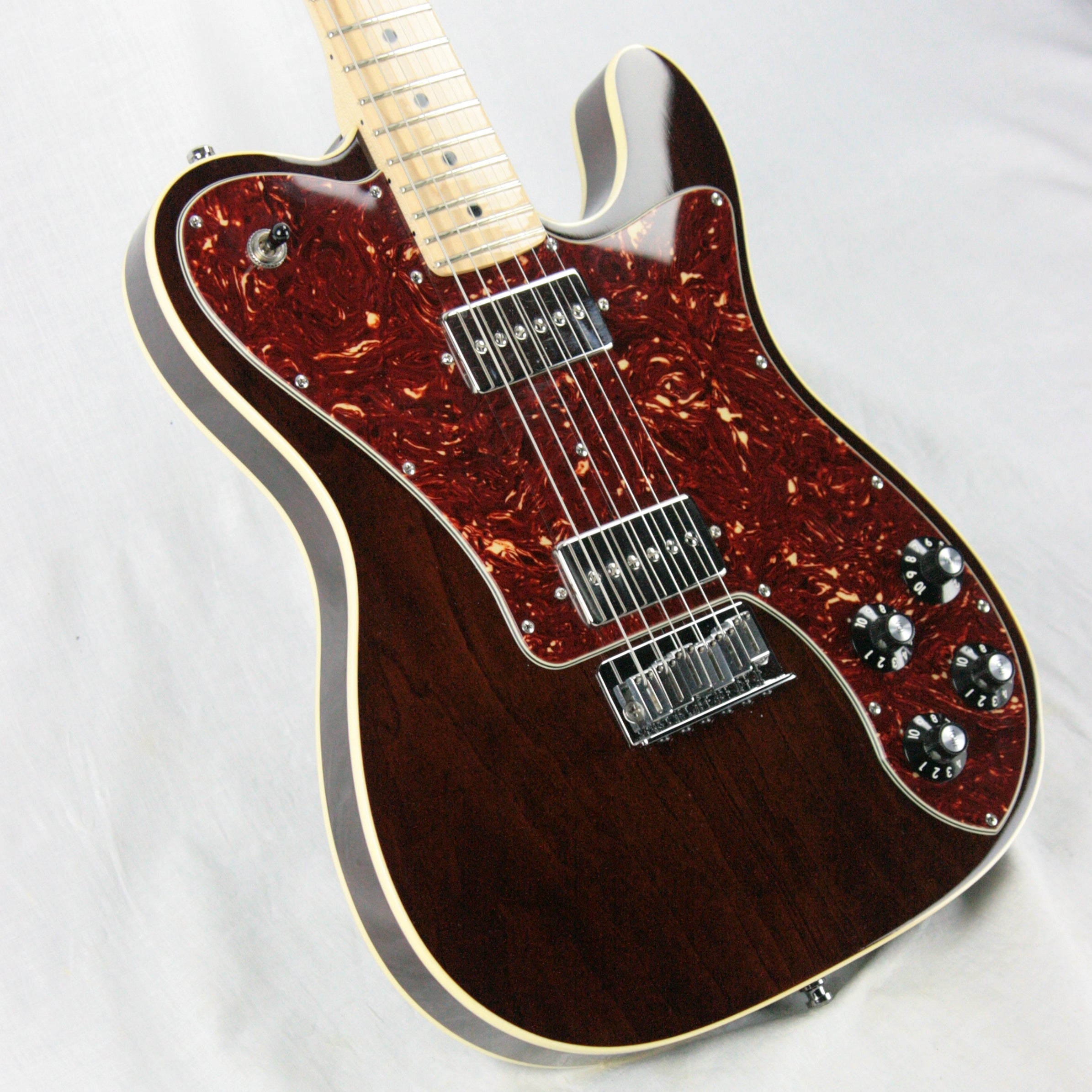 1972 Fender MASTERBUILT Telecaster Deluxe Custom Shop ONE-OF-A-KIND TELE! Double-Bound!