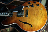 2017 Gibson ES-335 FIGURED Faded Light Burst Flametop! Block inlays! Memphis 345 355