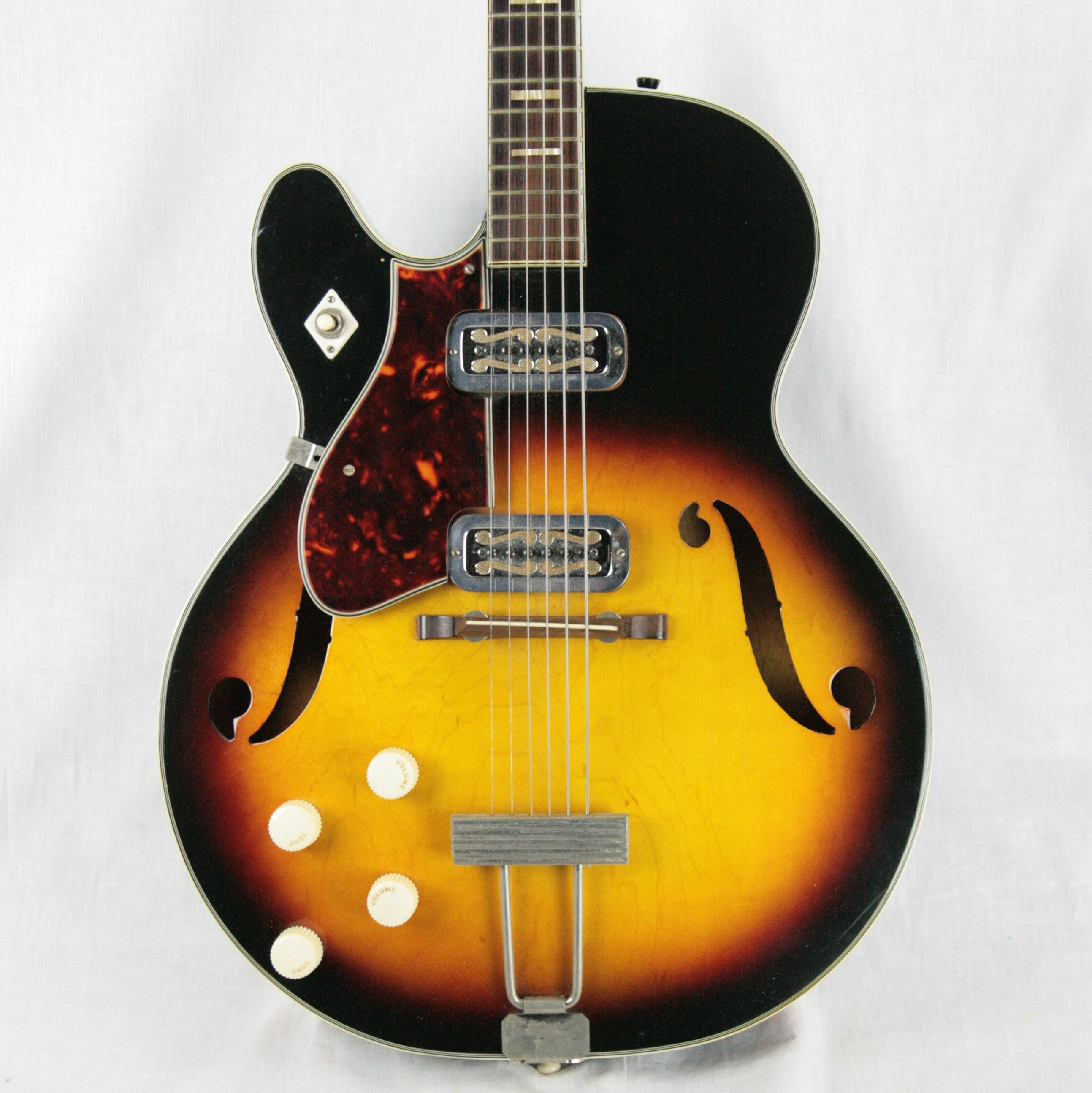 c 1960 Harmony H-70 Meteor LEFT-HANDED Guitar! Vintage Hollowbody! Keith Richards