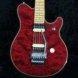 CLEAN 1991 Ernie Ball Music Man EVH Red QUILT Top! Eddie Van Halen!