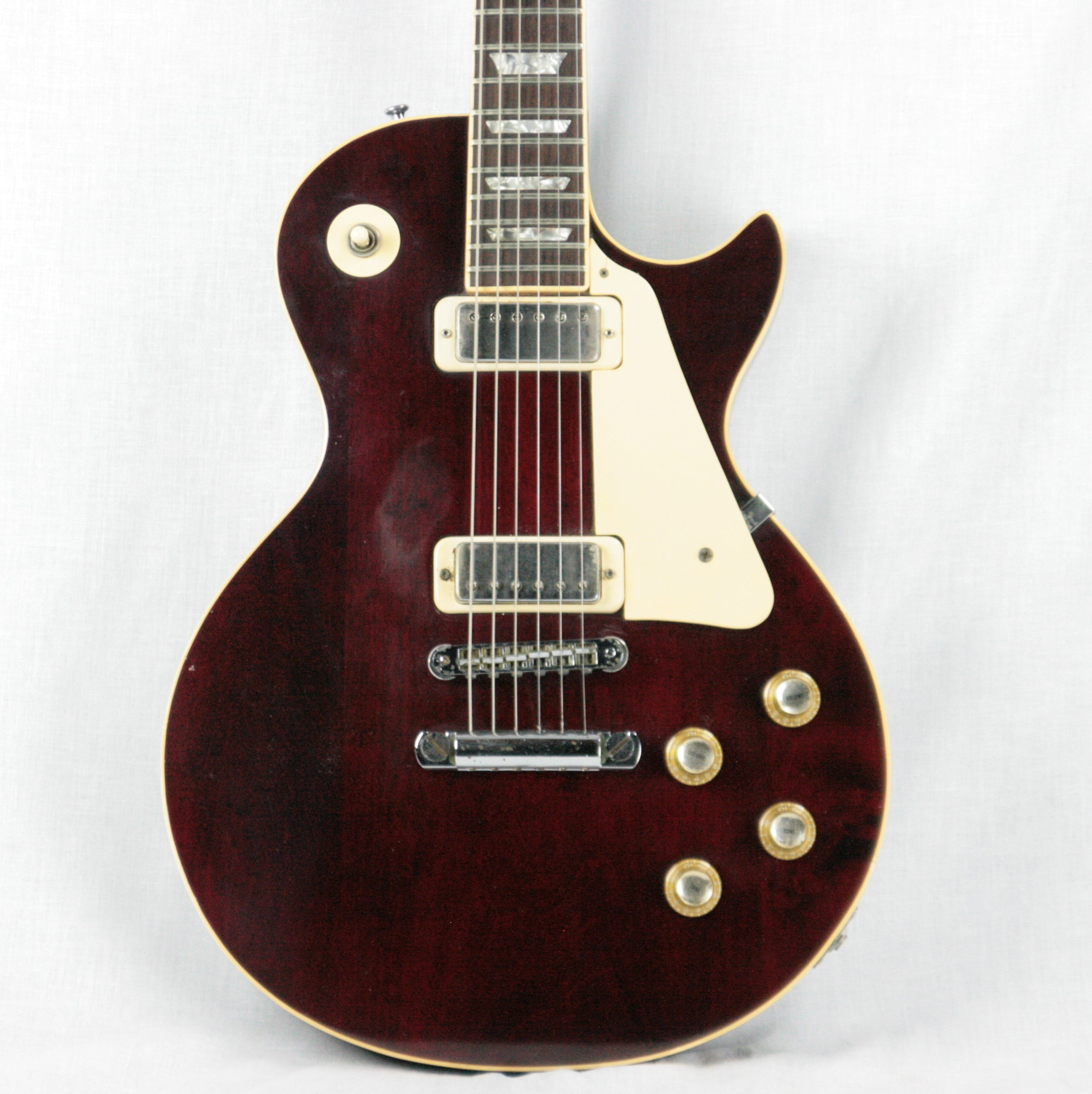 1978 Gibson Les Paul Deluxe Wine Red! Mini-Humbuckers! standard custom